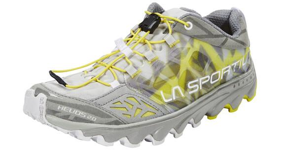La Sportiva Helios 2.0 Hardloopschoenen Dames geel/olijf